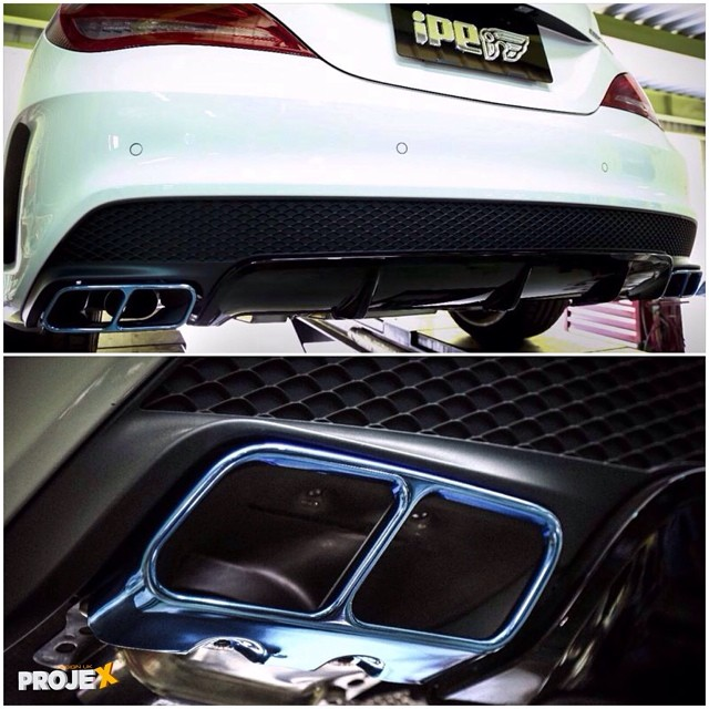 Name 10483539326760050813496948654261n Views 4619 Size 1044 Kb Cla 45 Amg Edition 1: Cla Amg Exhaust At Woreks.co