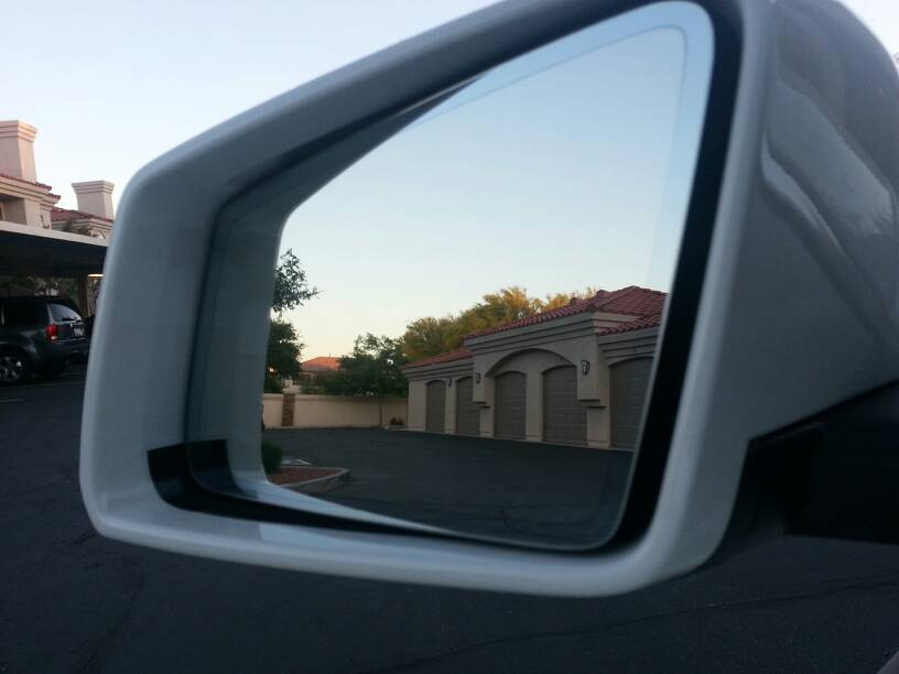 CLA 250 side mirrors view not covering blind spots. Please help
