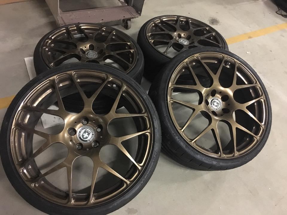 **HALF PRICE** HRE P40 Forged wheels in bronze