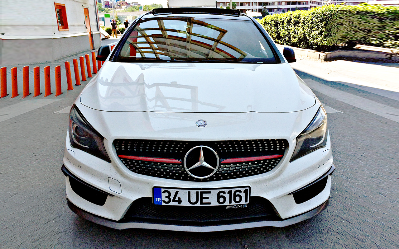 cla200 amg from istanbul. Black Bedroom Furniture Sets. Home Design Ideas