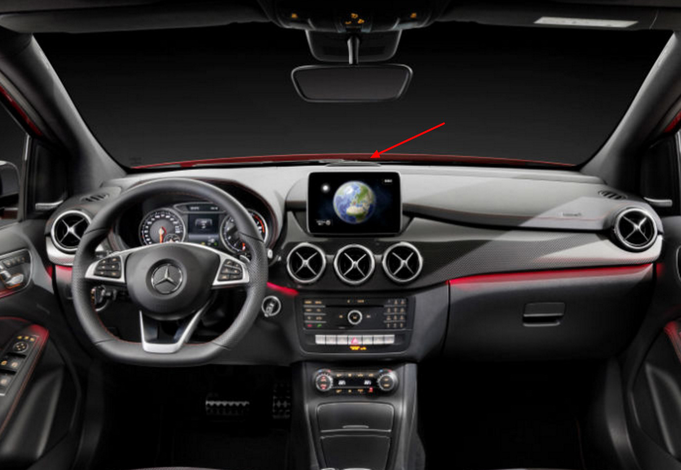 What Is The Thing On The Dashboard In The Cla