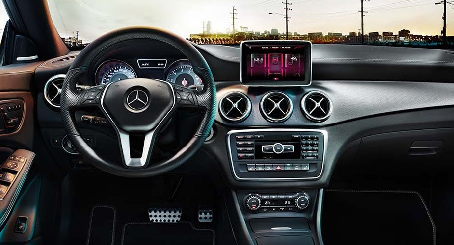 -Benz CLA Interior Colors / Interior Pictures-2014-mercedes-cla