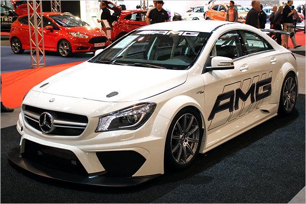 Mercedes Cla Amg At Essen Motorshow 2013