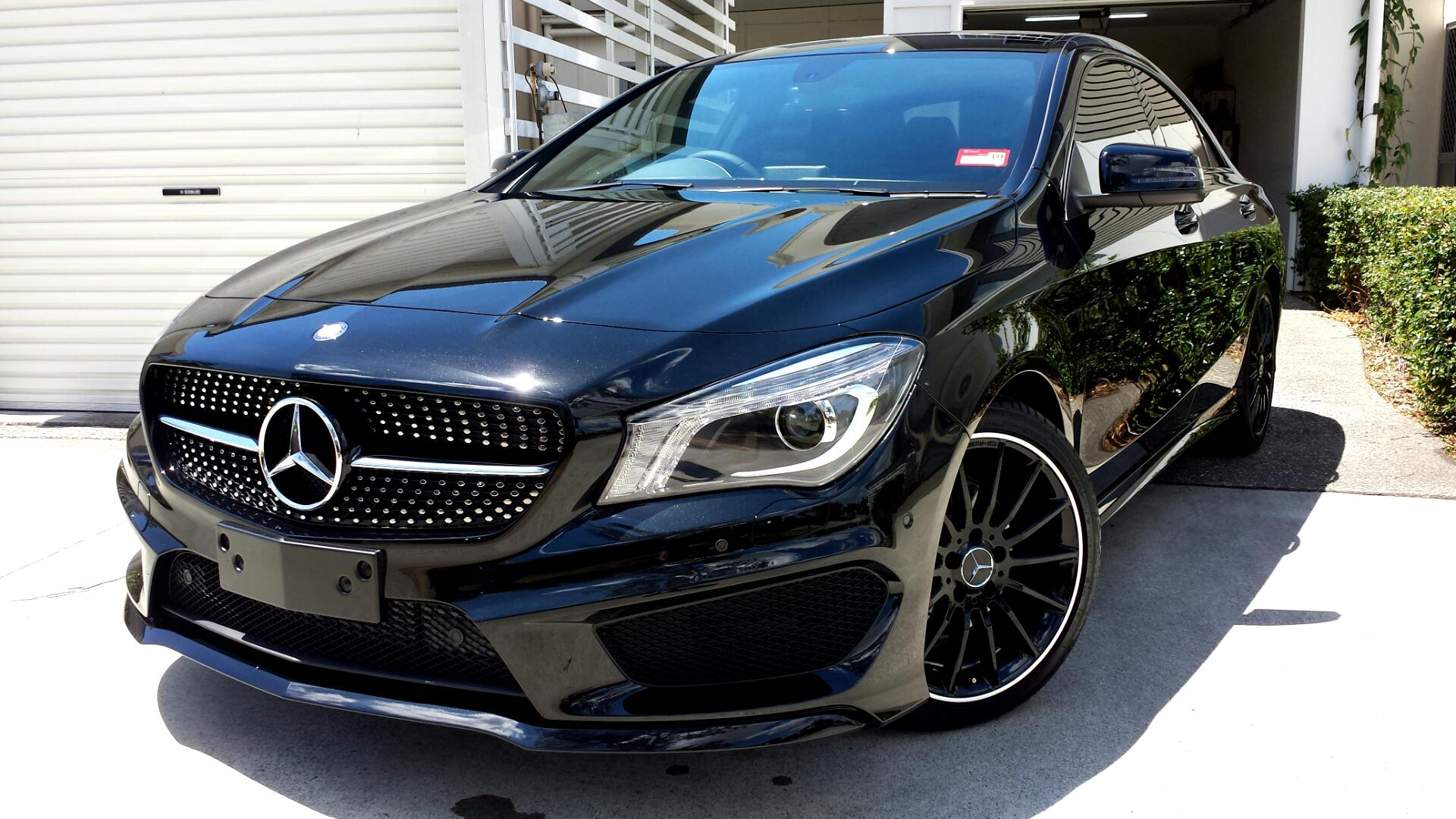 Mercedes Cla 250 Blacked Out cla in black pictures? - page 4