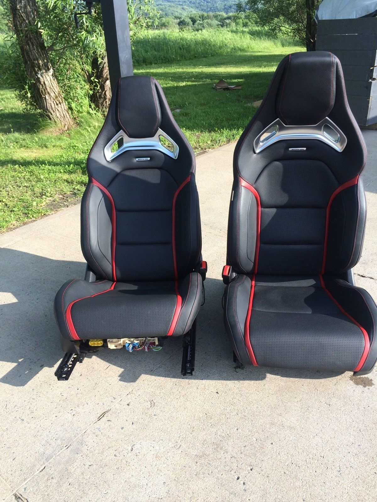 Fs cla45 amg recaro seats for Mercedes benz seats for sale