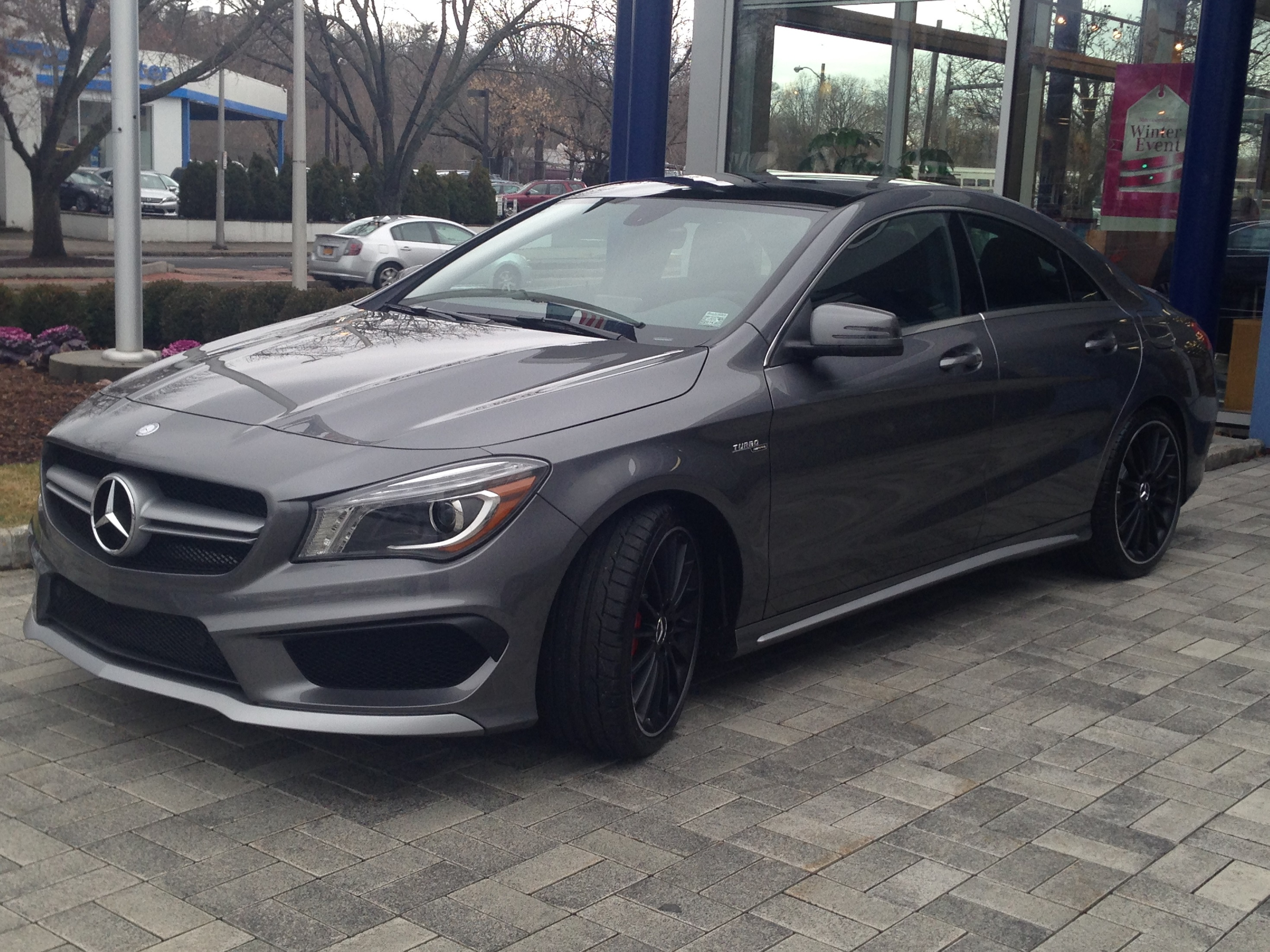 took delivery of my cla 45 on 123013