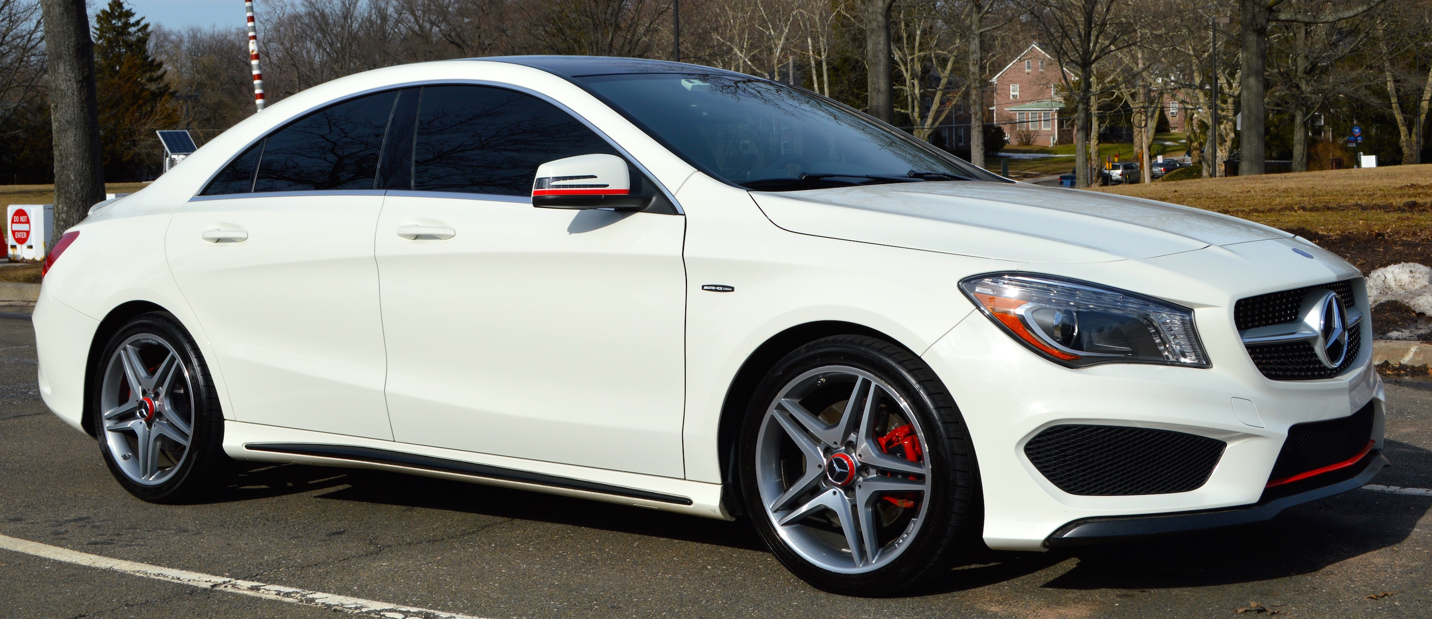 Mercedes Cla 250 Modified Edition 1 Look