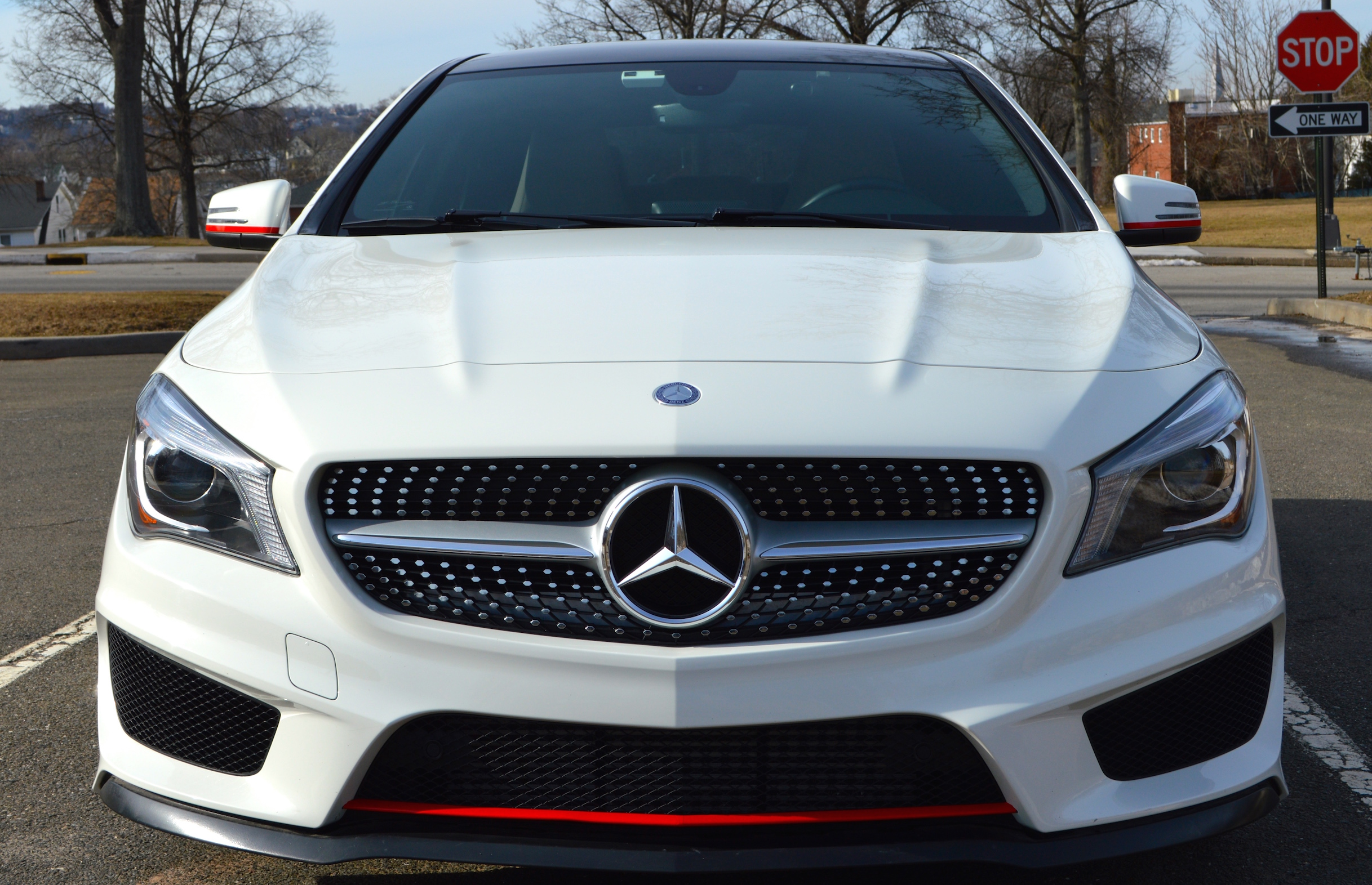 Mercedes CLA 250 Modified Edition 1 look.