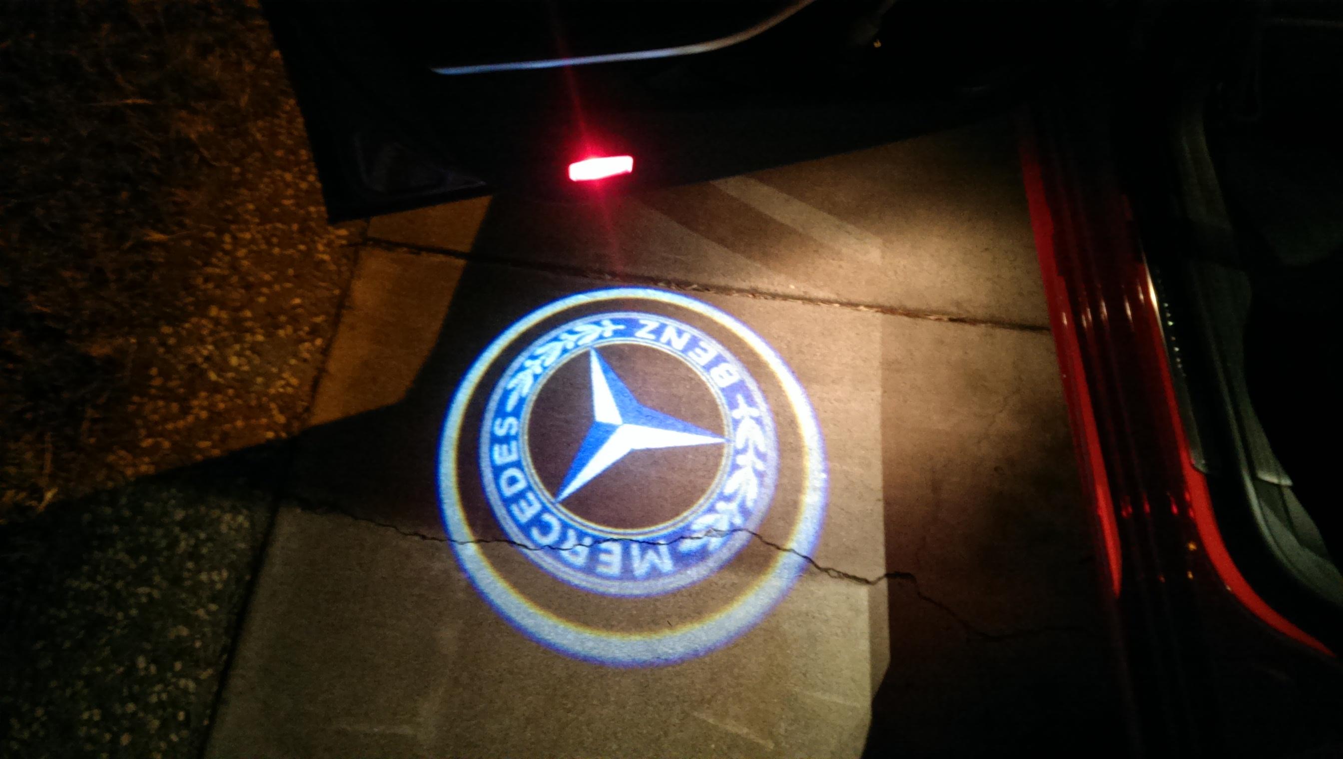 Mercedes W Amg Door Lights