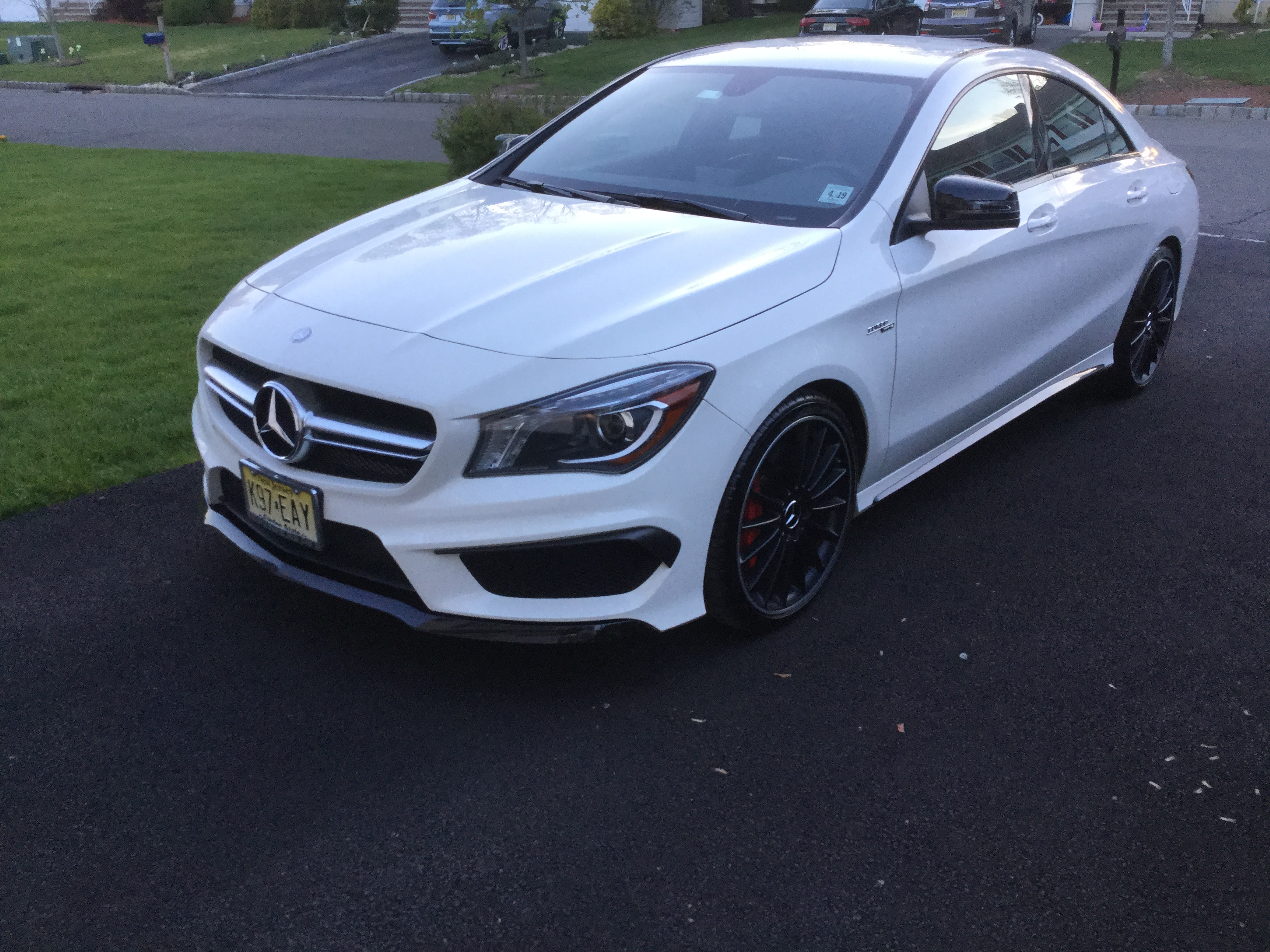 2014 cla 45 amg for sale 22k miles amg drivers package carbon fiber and much more. Black Bedroom Furniture Sets. Home Design Ideas