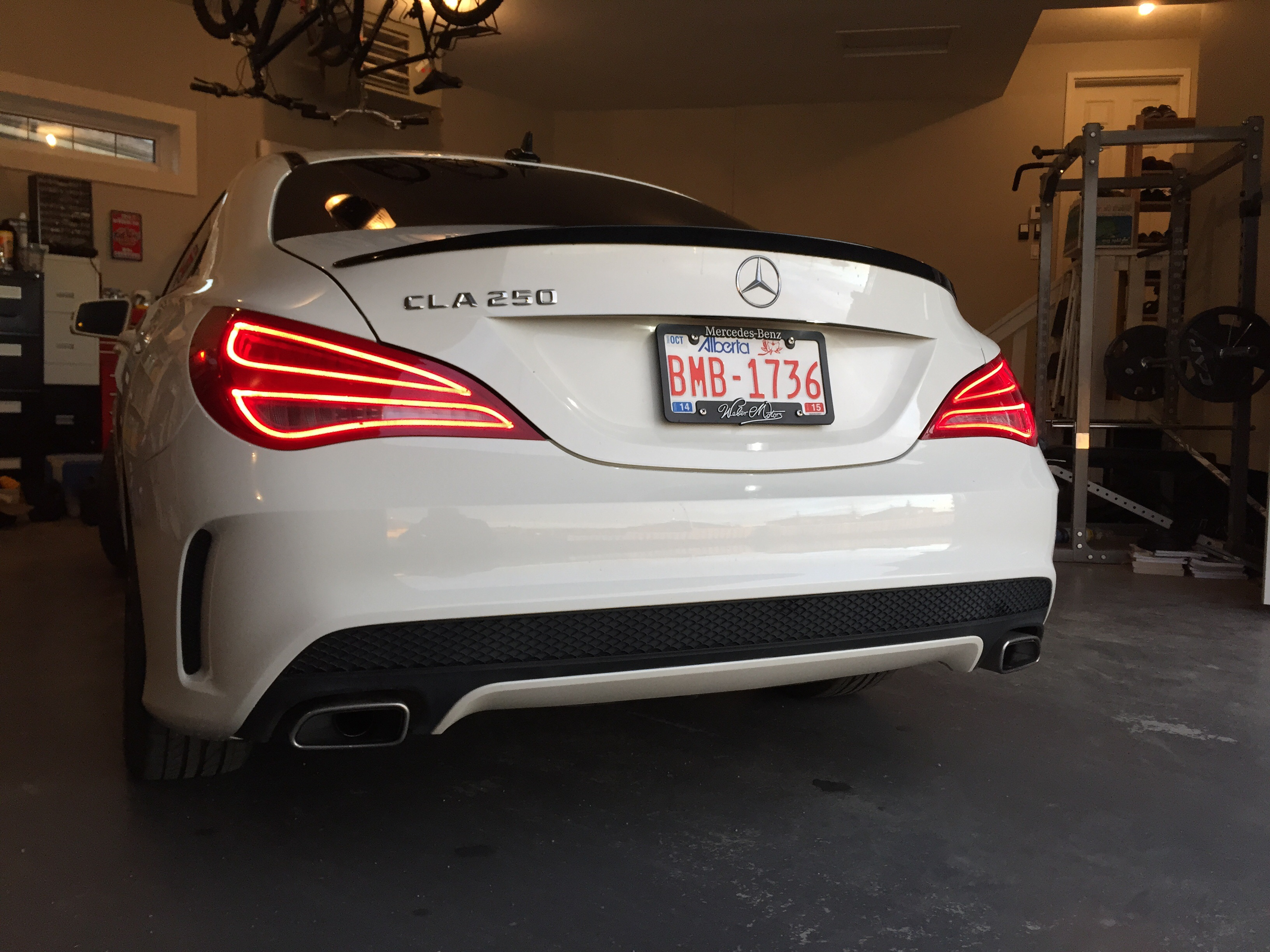My Cla250 With Hg Motorsport Performance Intake And Tmc