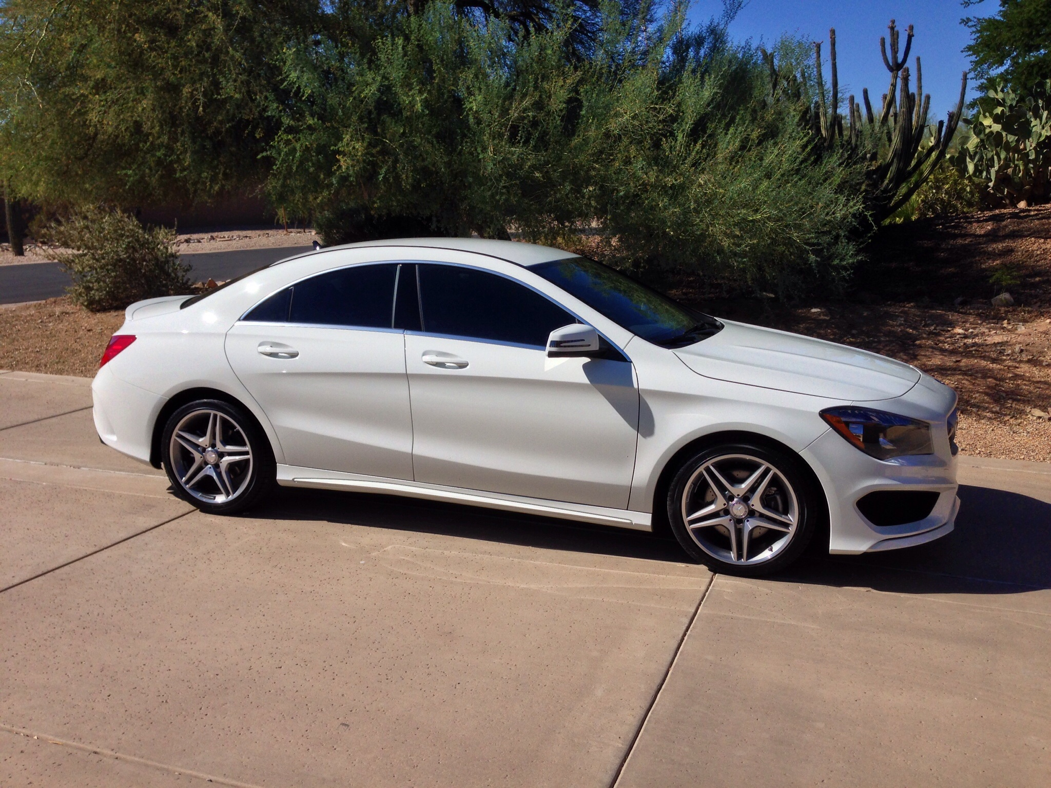 New White Cla 250 With Sport Package