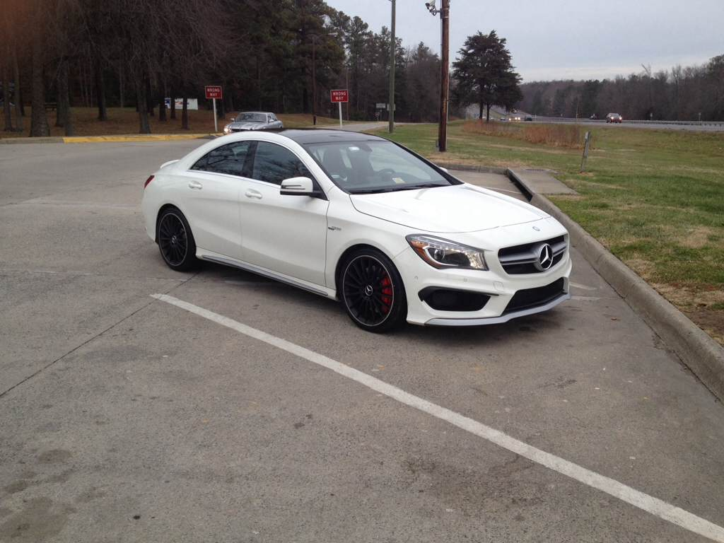 Pictures Of Cla 45 Amg S Cirrus White Mountain Grey Black