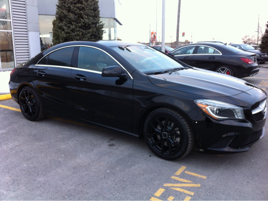 Mercedes cla 250 tire size