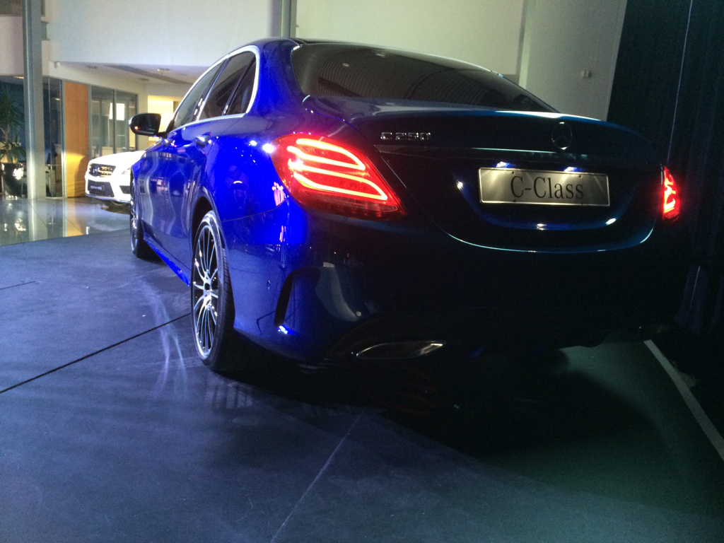 c class opening pics of amg pack c250