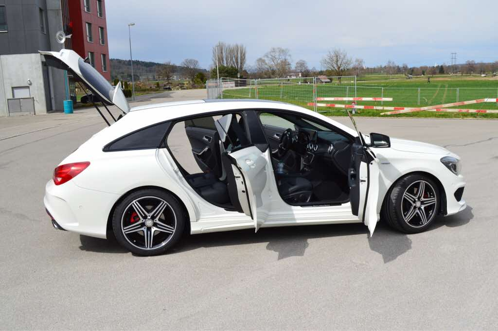 cla 250 sport 4matic shooting brake ordered today page 4. Black Bedroom Furniture Sets. Home Design Ideas
