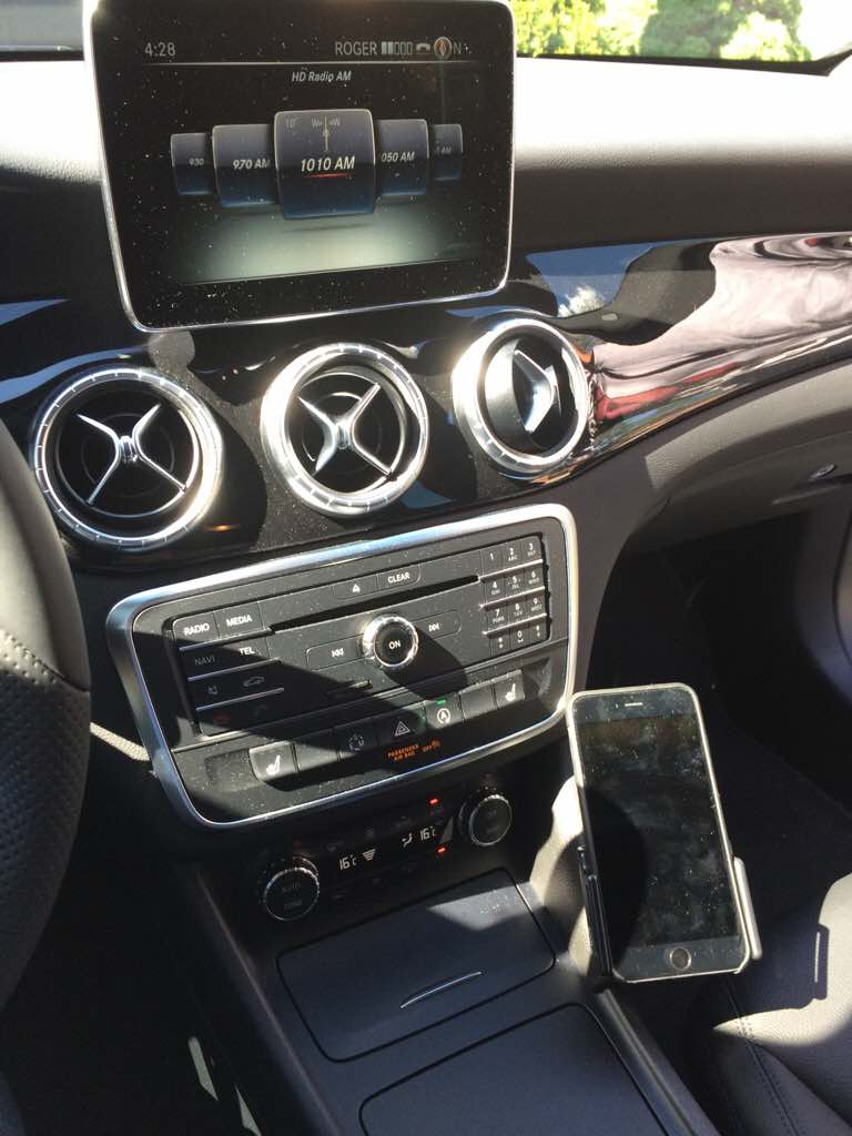 Iphone mounting locations page 3 for Mercedes benz phone mount