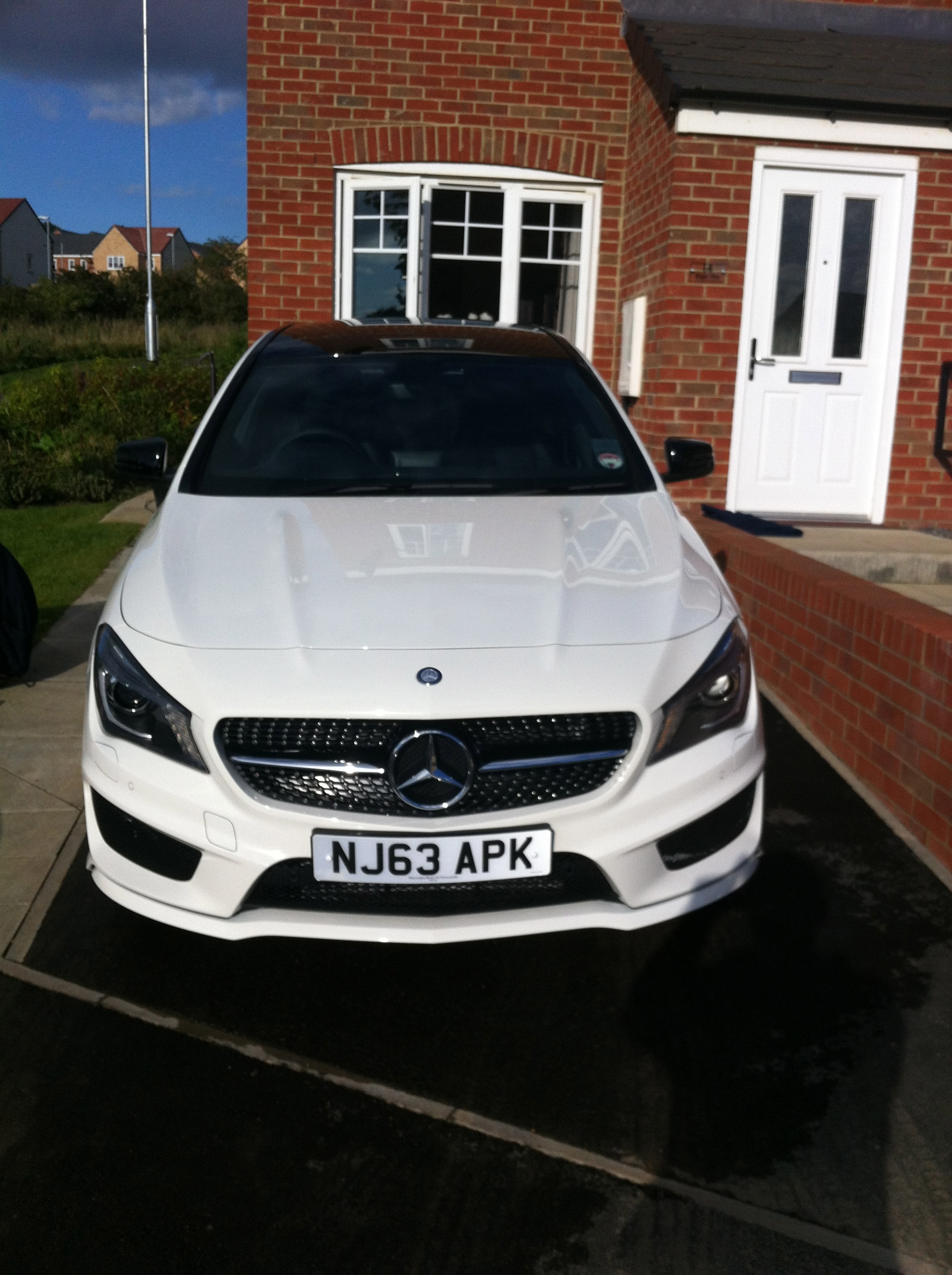 Bought My New Cla 220 Cdi Amg Sport