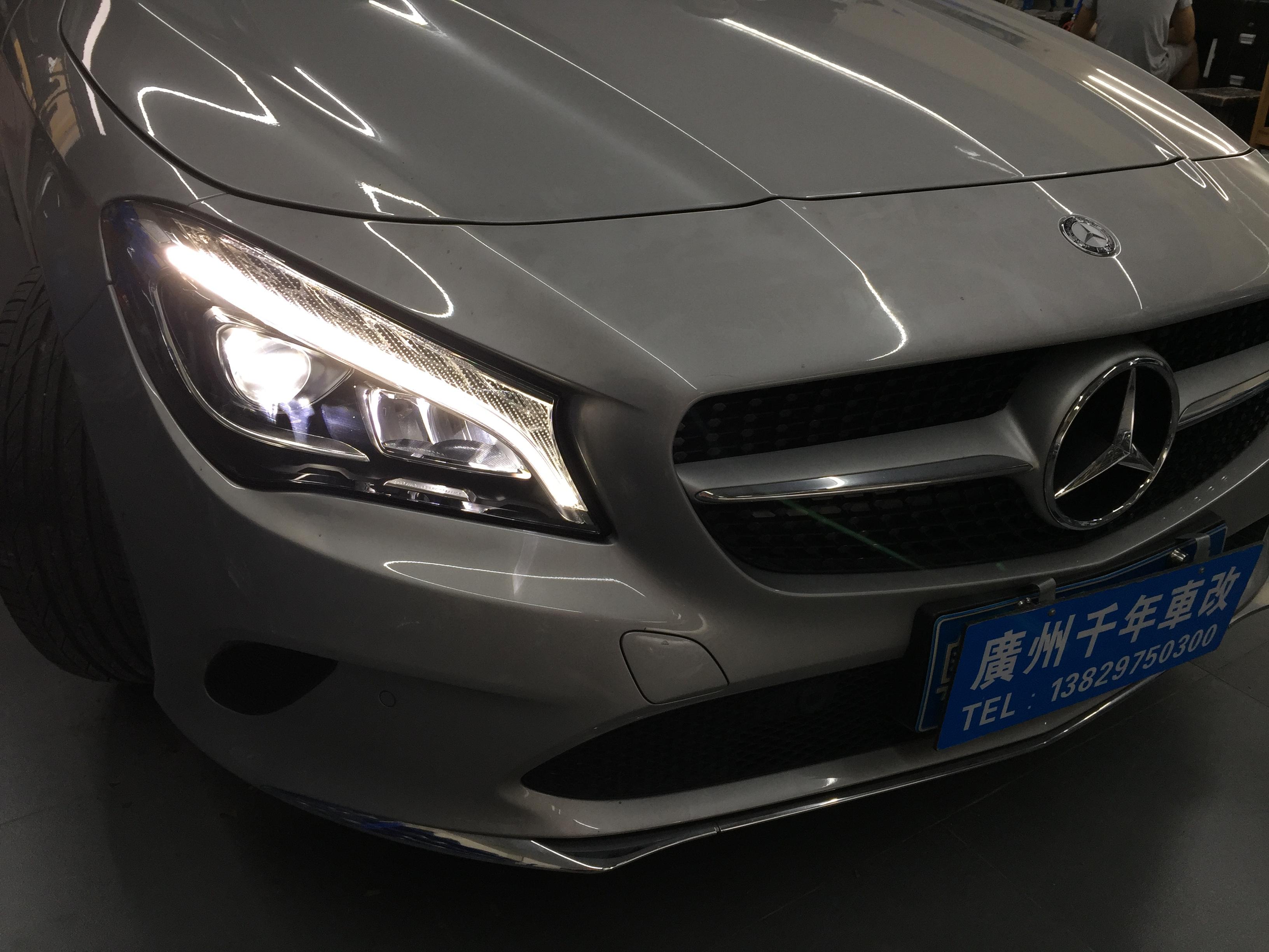 Mercedes Cla  Headlight