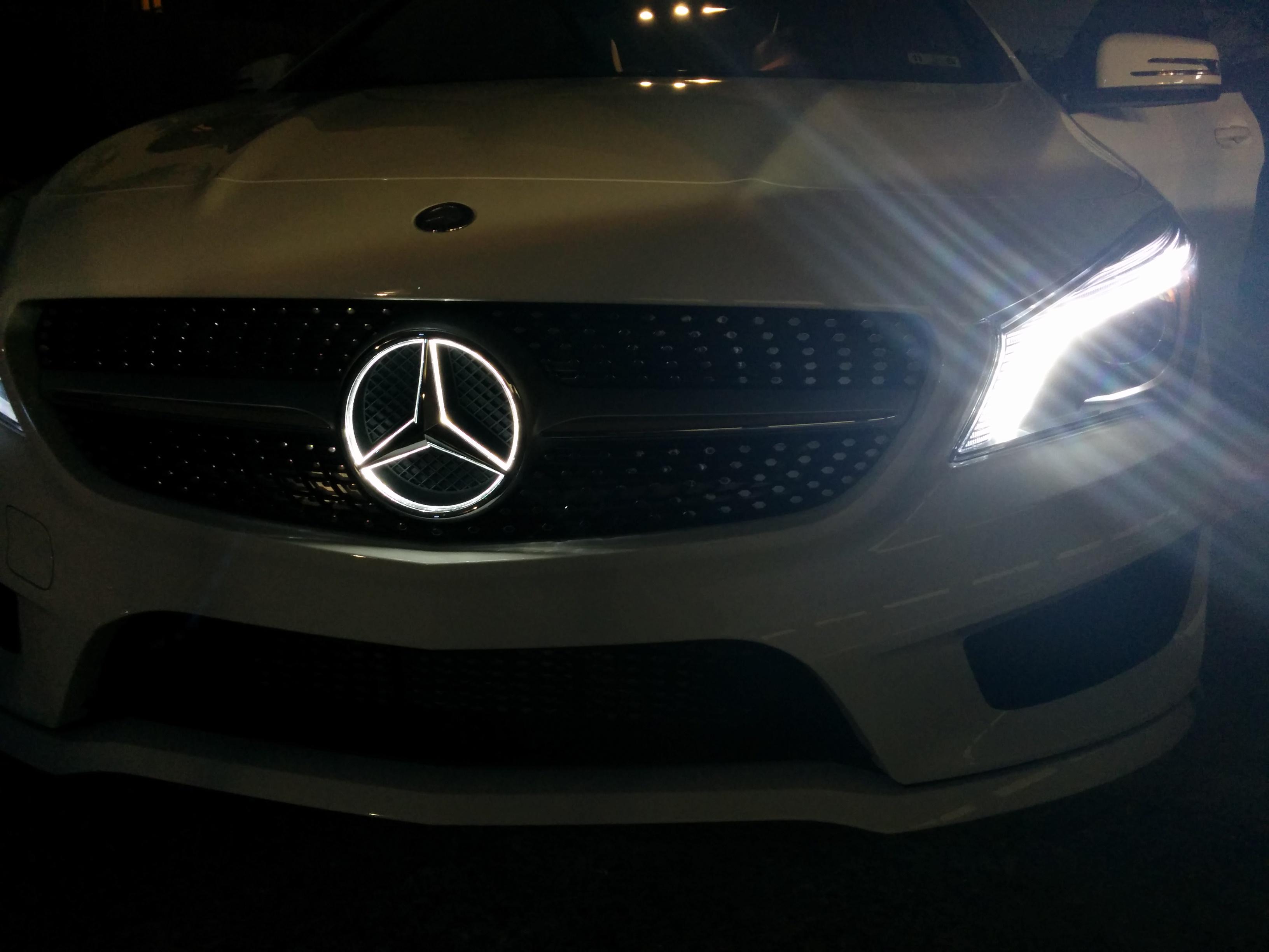illuminated mb star - mbworld forums