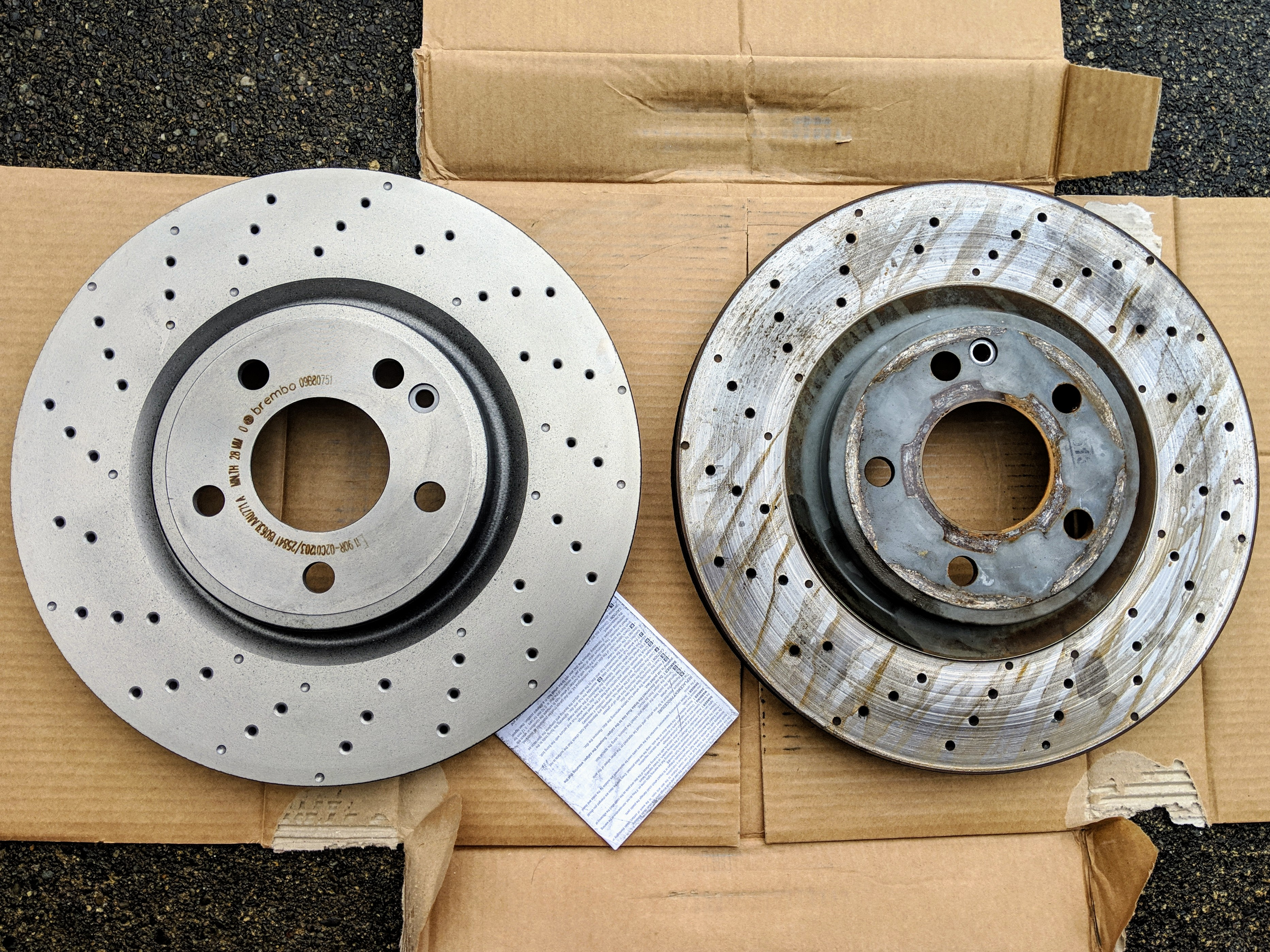 Just Did My First Cla250 Brake Job Success Story And Some Diy Tips Mercedes Cla Forum