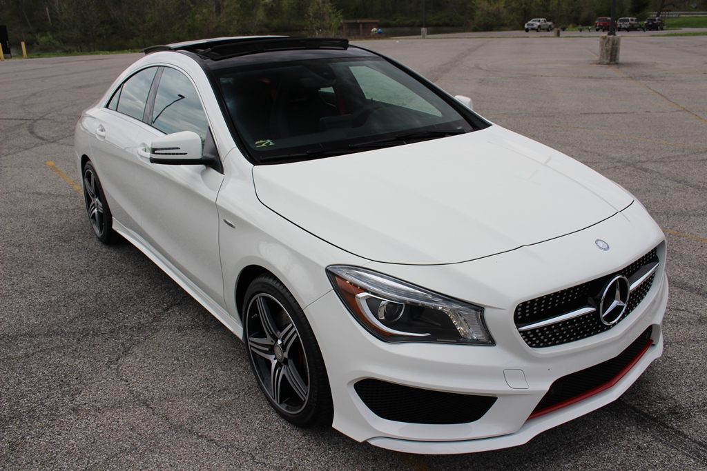 my new 2015 cla 250 white with sport plus package just arrived today. Black Bedroom Furniture Sets. Home Design Ideas