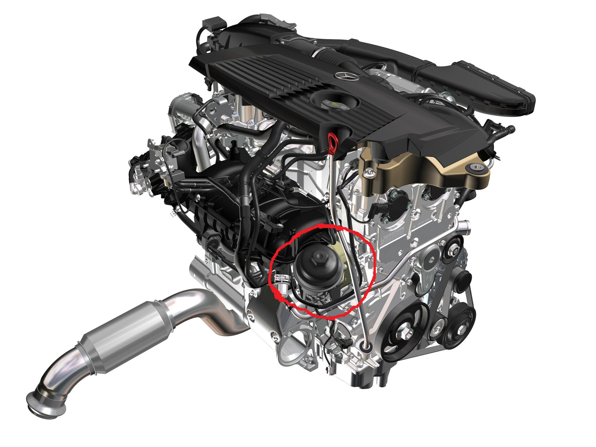 D Cla Oil Filter Location M on 3 4l Engine Diagram