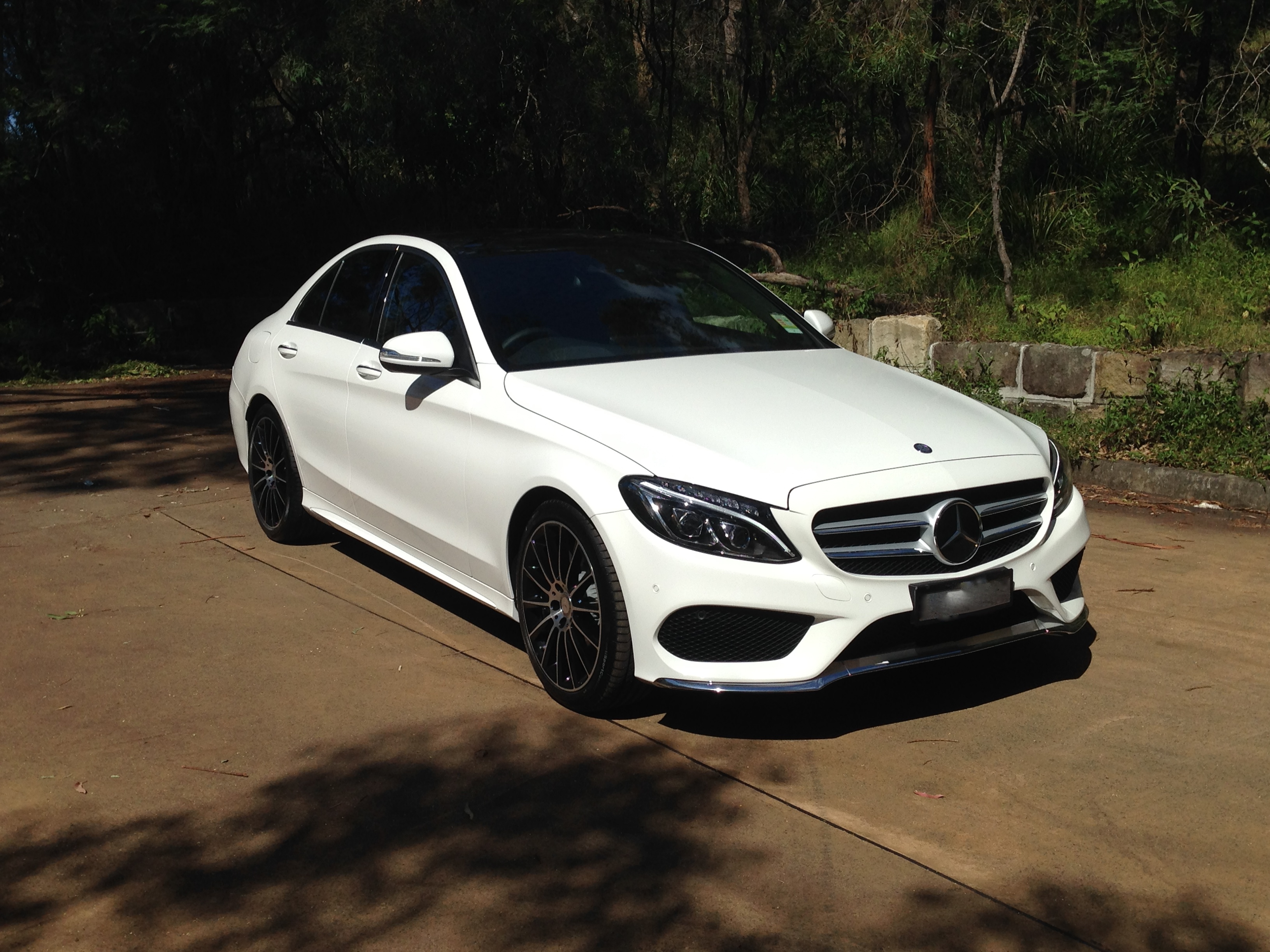 C Class Opening Pics Of Amg Pack C250 Page 2