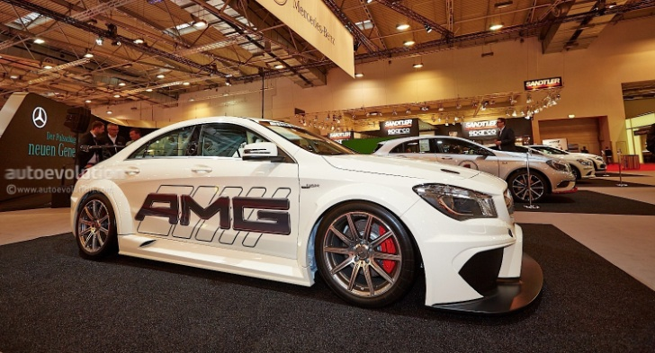 mercedes cla amg at essen motorshow 2013. Black Bedroom Furniture Sets. Home Design Ideas