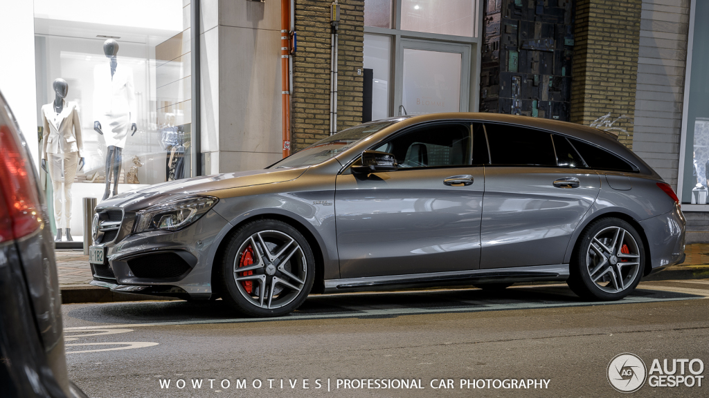 cla45 amg shooting brake. Black Bedroom Furniture Sets. Home Design Ideas