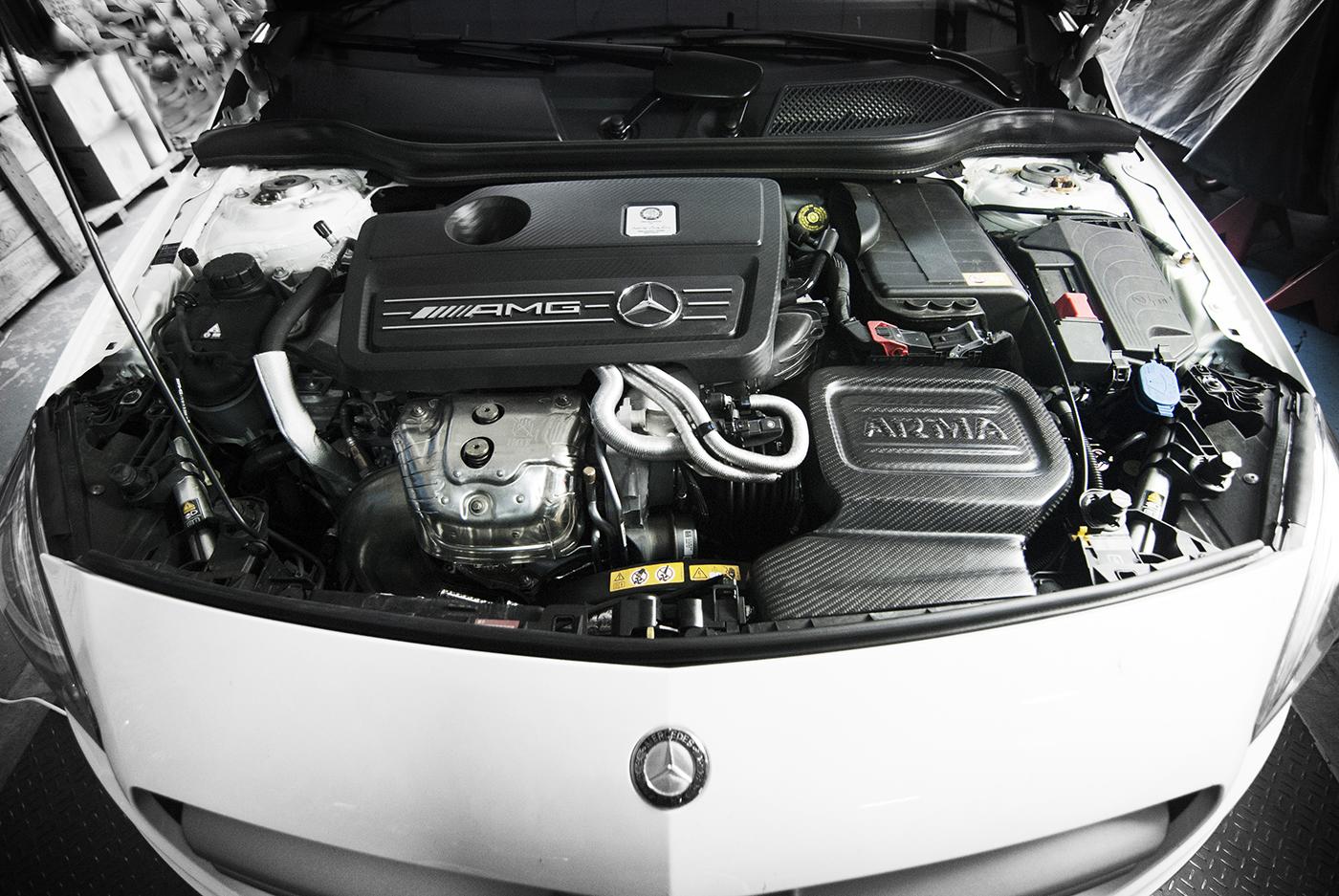 Name:  Mercedes_W176 A45 CLA45_ Arma Carbon Intake.jpg Views: 152 Size:  910.6 KB