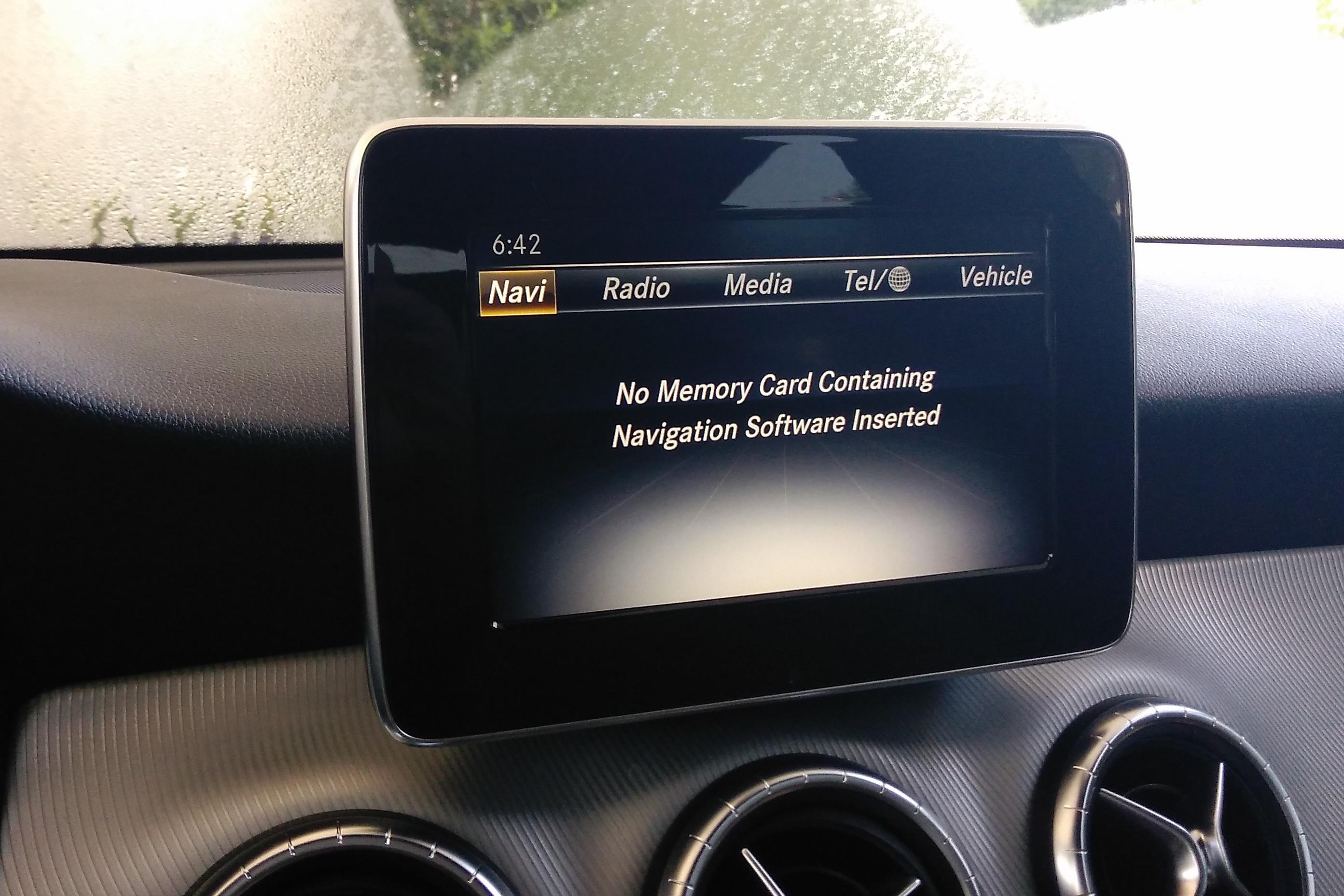 navigation system enable rh mercedescla org mercedes garmin navigation pre wiring Garmin GPS Antenna
