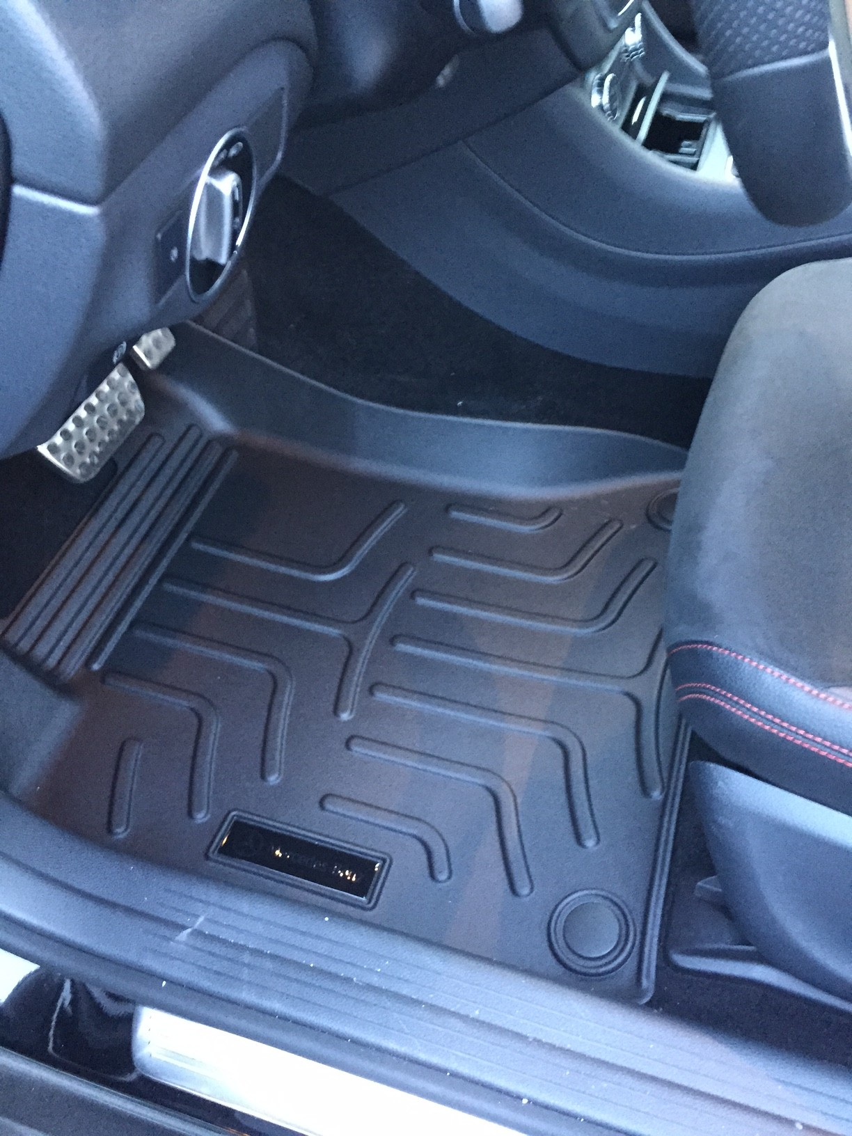 weathertech gray mpn mats sportage mat floor all weather car row kia