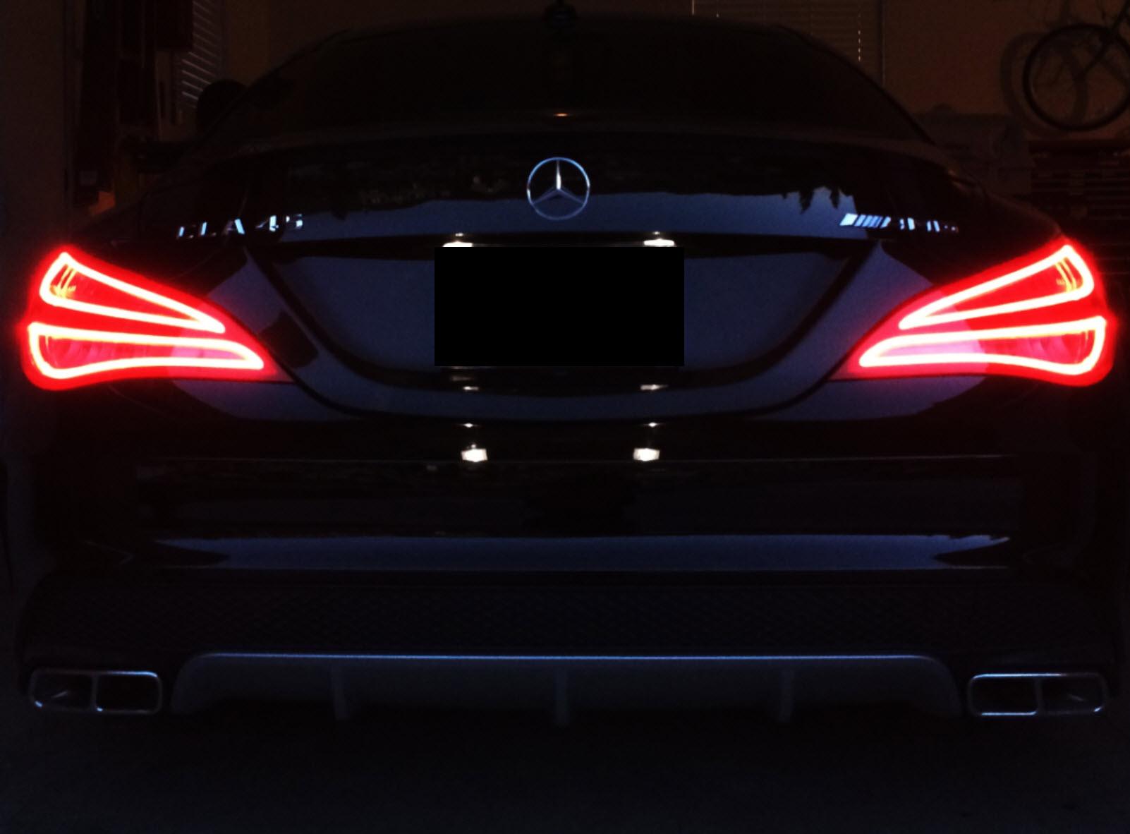 Led Lights For Motorcycle >> CLA 250 Fiber Optic LED Tail Lights