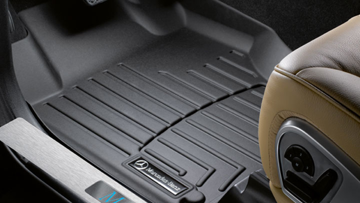 2015 Mercedes Benz Cla All Weather Floor Mats