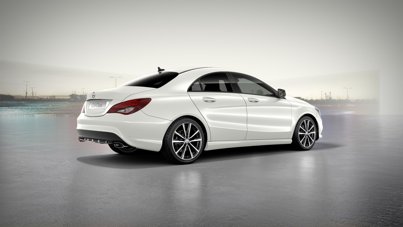 Mercedes Benz White Paint