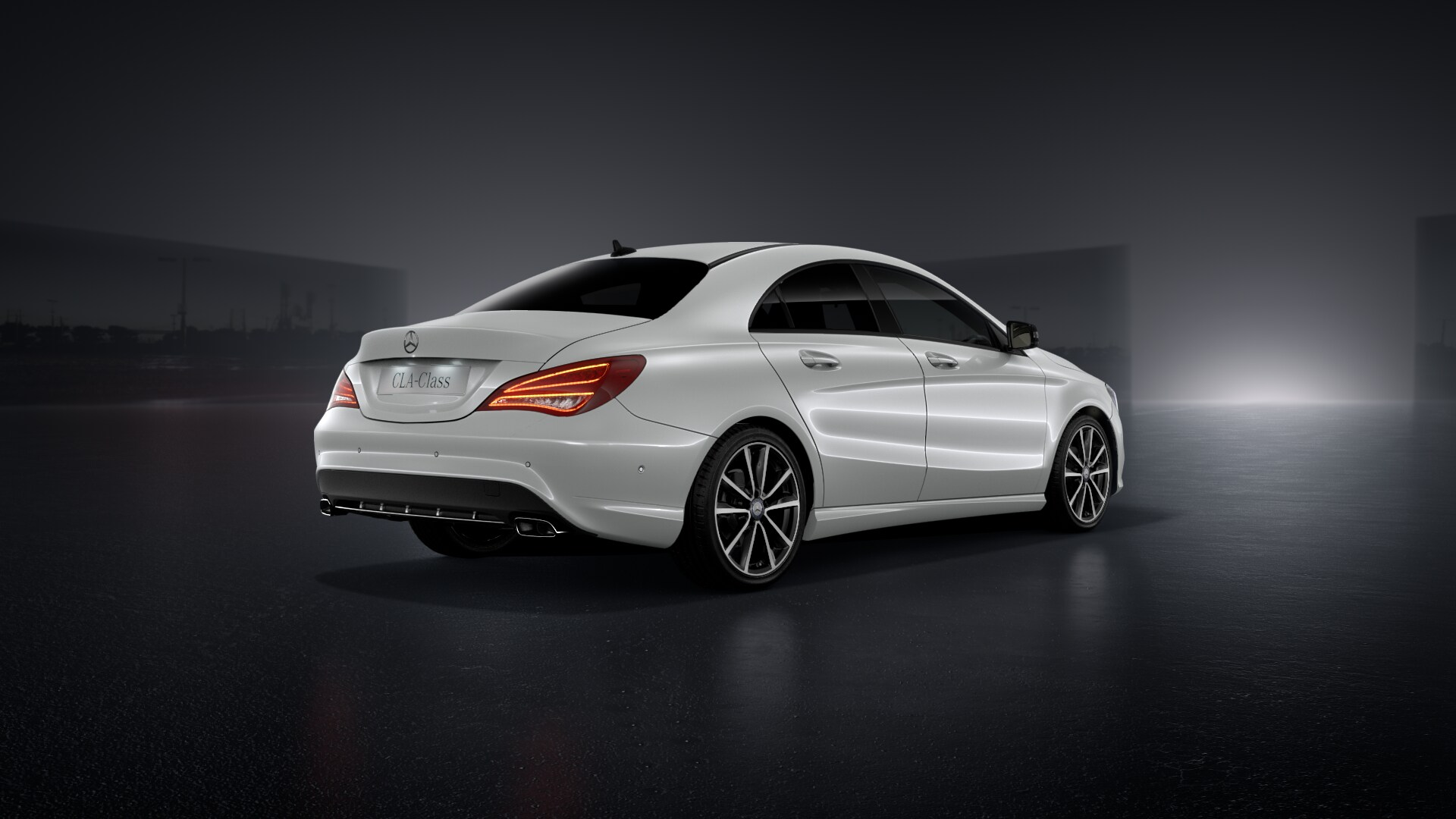 The official Mercedes CLA Cirrus White  Thread-wallpaper2.jpg