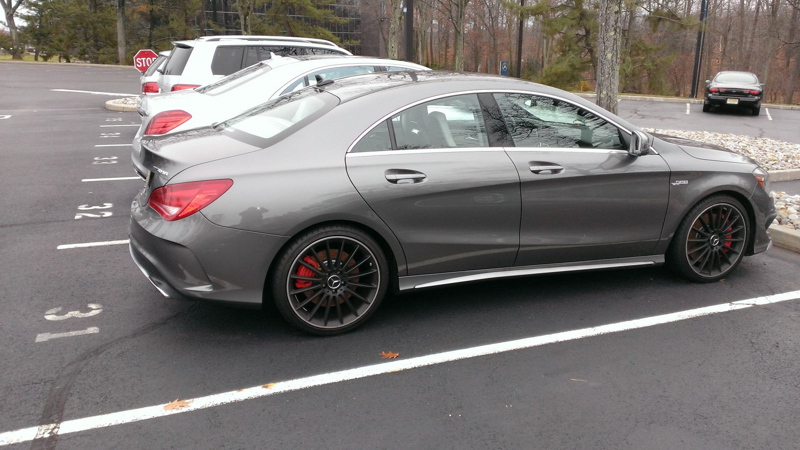 Jeep Hard Top >> Pictures of CLA 45 AMG's...............Cirrus White ...