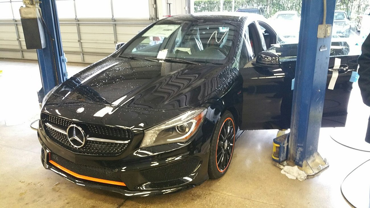 Spotted 2016 Cla250 Orange Art On Us Shores Mercedes Cla Forum