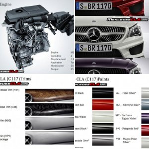 Misc Mercedes-Benz CLA Pictures