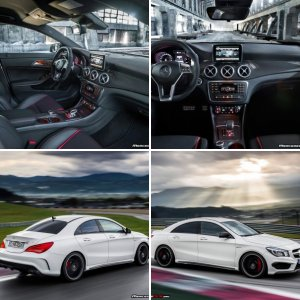 Mercedes-Benz CLA45 AMG Pictures